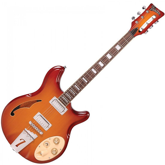 ITALIA RIMINI 6 ELECTRIC GUITAR ~ HONEY SUNBURST