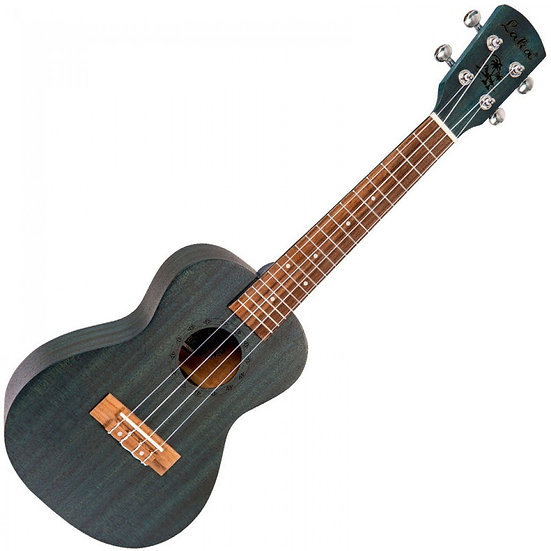 LAKA CONCERT UKULELE & BAG - MIDNIGHT BLUE