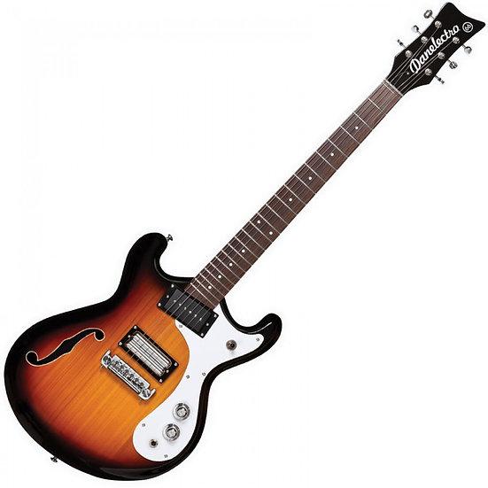 DANELECTRO '66 GUITAR ~ 3 TONE SUNBURST