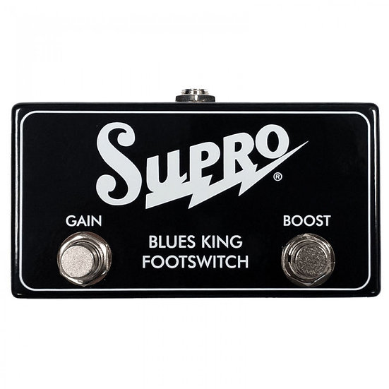 SUPRO BLUES KING DUAL FOOTSWITCH