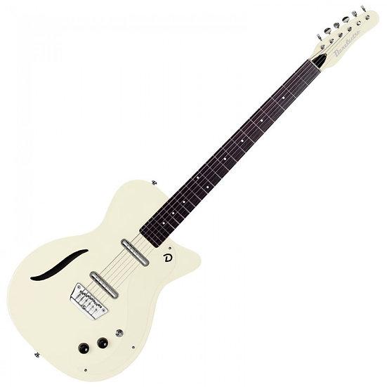 DANELECTRO VINTAGE '56 BARITONE GUITAR ~ VINTAGE WHITE