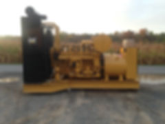 CAT 3412 Diesel to NG Conversion