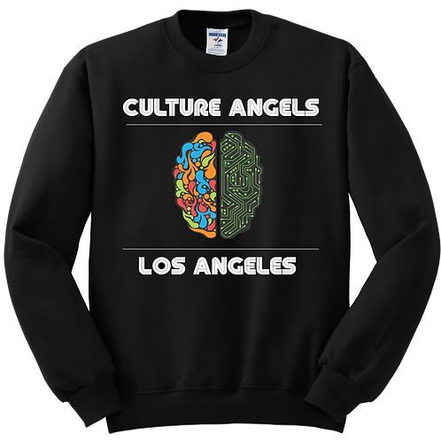 """ENGAGE IN INFORMATION"" CREWNECK"