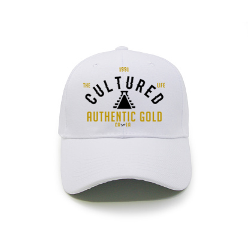 THE CULTURED LIFE AUTHENTIC GOLD (PT.2) HAT