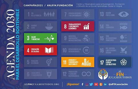 agenda 2030 @alFIN.asociación Campaña 2021 #alFIN.fundación