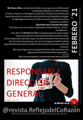 Responsable de Dirección General @revista.ReflejodelCoRazón
