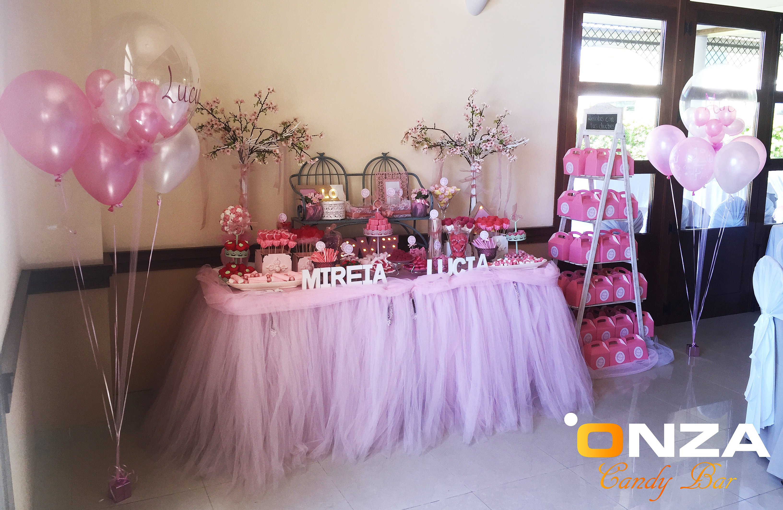 Onza candy bar tartas de chuches mesas dulces for Carritos de chuches para comuniones precios