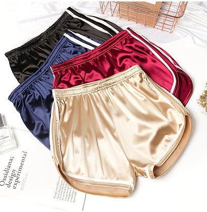 Dance With Me Satin Shorts