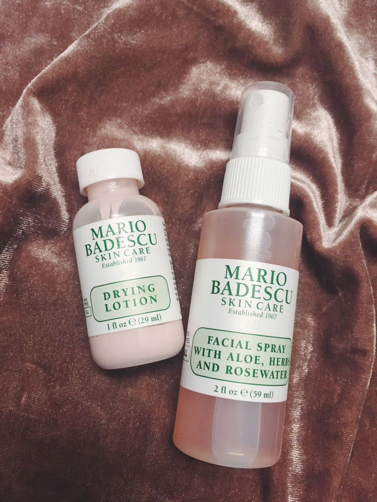 Review Mario Badescu Drying Lotion Facial Spray