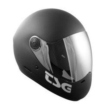 TSG Pass Full Face Helmet Matt Black