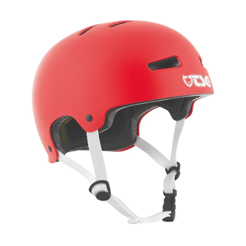 TSG Evolution Helmet Satin Fire Red