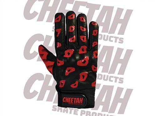 Cheetah Gloves Red