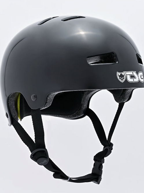 TSG Evolution Helmet Injected Black