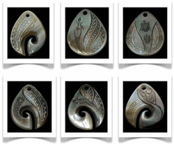 Tear Drop Pendants