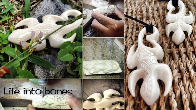 BONE CARVINGS