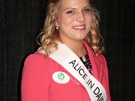 Brand Spankin' New ApEc Alum Named Wisconsin's 70th Alice in Dairyland!