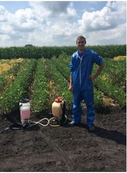 My internship with UMN Dept. of Agronomy