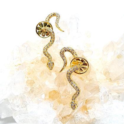 Ophidia Snake Earrings
