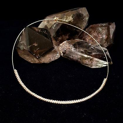 Diamond Wreath Choker