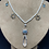 Thumbnail: Blue Topaz and Pink Sapphire Necklace