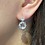 Thumbnail: White Silver White Topaz Earrings