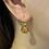Thumbnail: White Topaz and Citrine Earrings