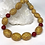 Thumbnail: Orange Sapphire Egg Necklace