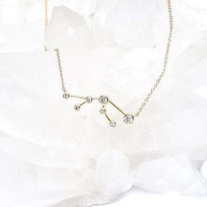 Taurus Zodiac Necklace
