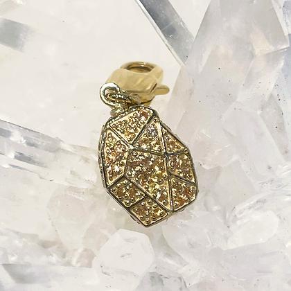 Mini Yellow Sapphire Pendant