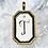 Thumbnail: T Monogram Pendant