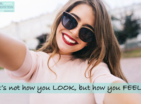 It's Not how you LOOK, but how you FEEL...
