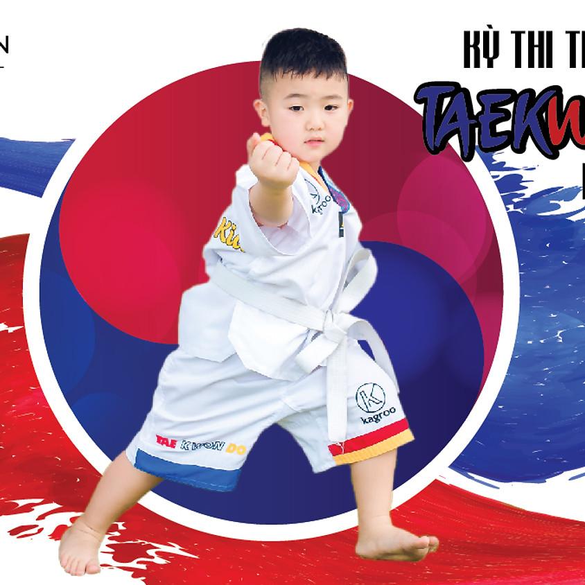 Kỳ Thi Thăng Đai Câu Lạc Bộ Taekwondo Kindy Town