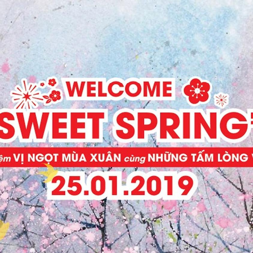 Welcome Sweet Spring - Vị ngọt mùa xuân