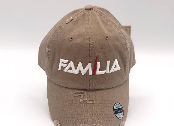 Distressed Familia Dad Hat