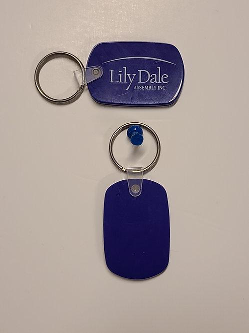 Lily Dale Logo Key Chain
