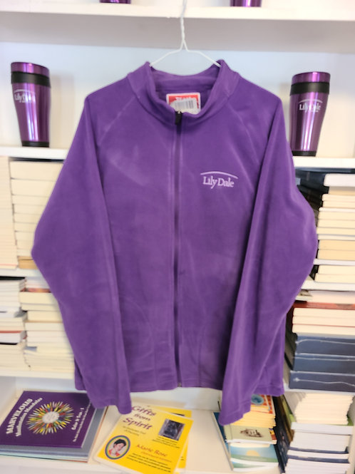 Embroidered Lily Dale Logo Fleece Jacket