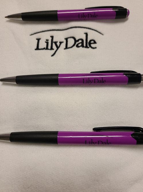 Lily Dale Logo Pen