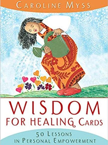 Wisdom For Healing Cards -Caroline Myss