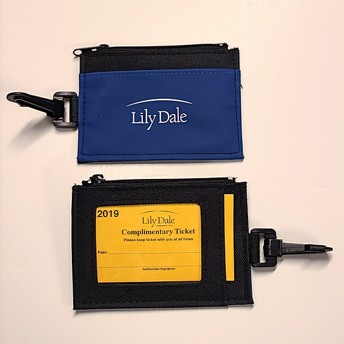 Lily Dale Logo Zippered Pouch