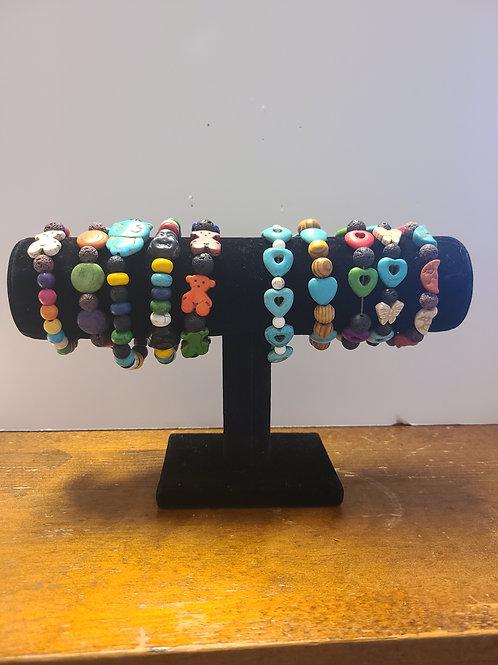 Youth Lava Stone Bracelets