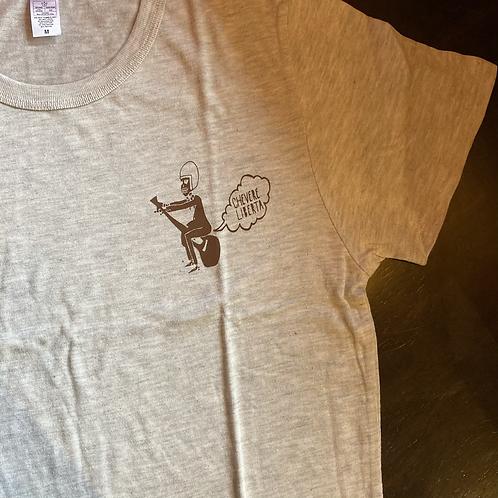chevere LIBERTA 【スカルギター】Tシャツ