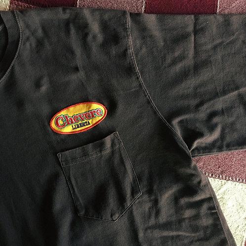 chevere LIBERTA オリジナルワッペン ポケットTシャツ