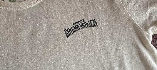 CIRCUS2021限定 ヘンプxオーガニックコットンTシャツ