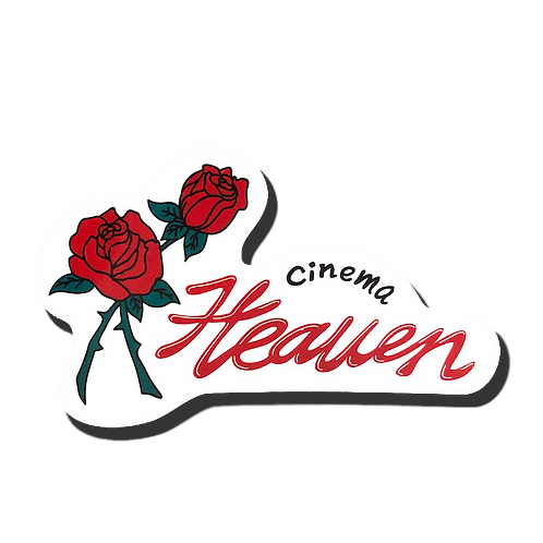 "Neon sign ""cinema HEAVEN"""