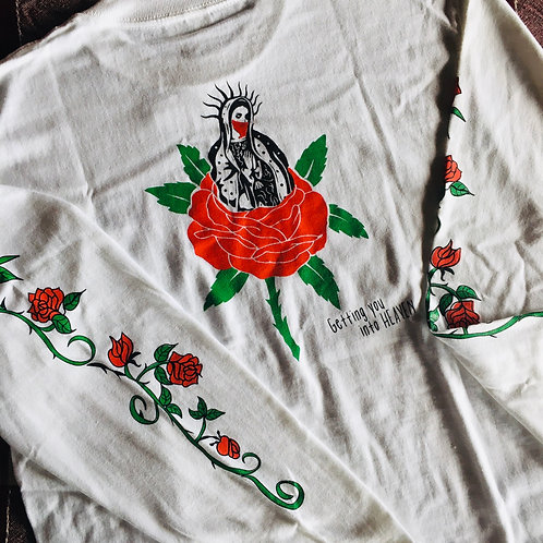 """Getting you into HEAVEN L/S Tee """"マリア"""""""
