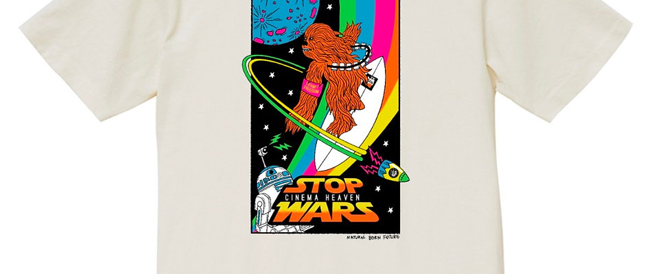 STOP WARS プリントTシャツ<WH>