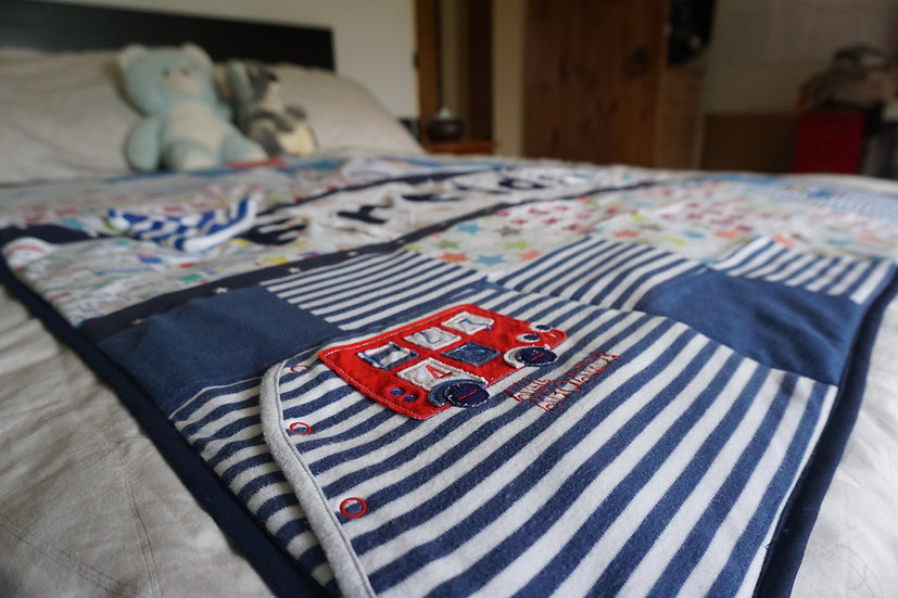 """Big kid bed"" quilt (100x140cm)"