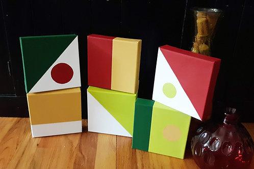 "Cigar Cubes (6) 6x6"" Blocks"