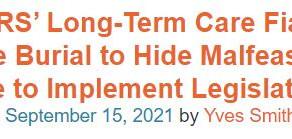 CalPERS Long-Term Care a Fiasco