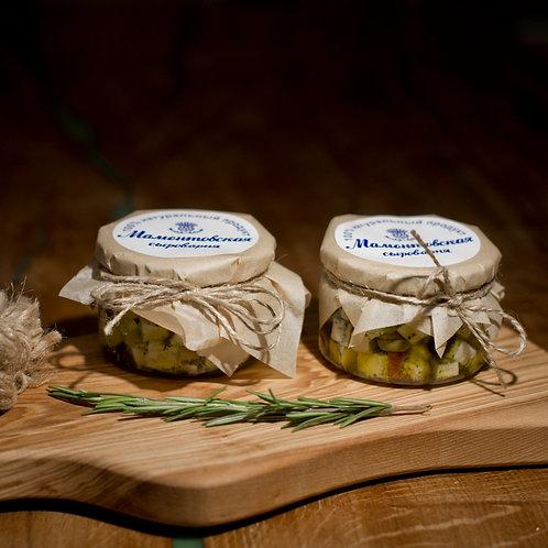 Сырное ассорти в пряно-масляной заливке, 225 гр.